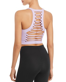 Alo Yoga - Movement Lace-Up Sports Bra