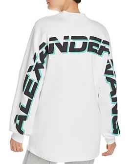 alexanderwang.t - French Terry Logo Sweatshirt