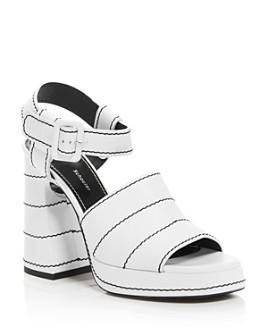 Proenza Schouler - Women's Leather Platform Sandals