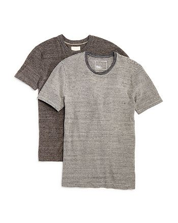 Mills Supply - Heathered Jersey Tee - Pack of 2