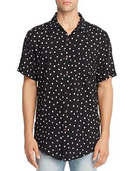 The People Vs. - Steve Short-Sleeve Dot-Print Slim Fit Shirt