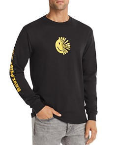 Pacific & Park - Long-Sleeve Smiley Nice Day Graphic Tee