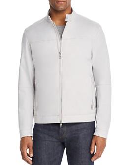 Michael Kors - Zip-Front Racer Jacket