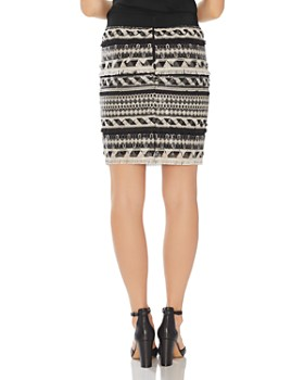 VINCE CAMUTO - Embellished Mini Skirt