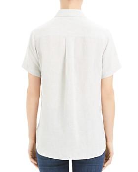 f6ea3201c99 ... Theory - Hekanina Tie-Front Shirt