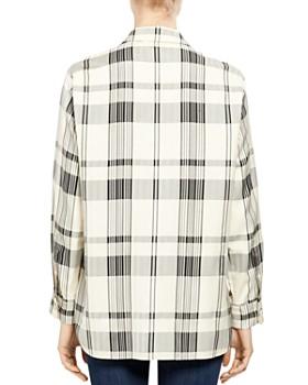 Theory - Classic Menswear Plaid Shirt