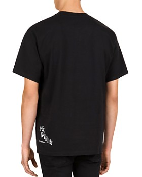 The Kooples - Printed Cotton Crewneck Tee