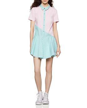 c5890d801cd BCBGENERATION - Drop-Waist Color-Block Shirt Dress ...