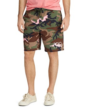 Polo Ralph Lauren - Camouflage-Print Fleece Shorts