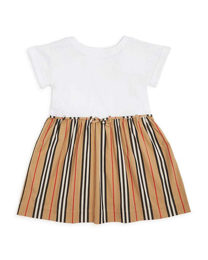 Burberry - Girls' Rhonda Icon Stripe Dress - Little Kid, Big Kid
