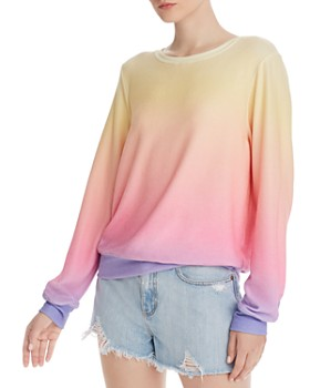 WILDFOX - Baggy Beach Ombré Sweatshirt - 100% Exclusive