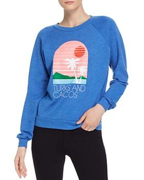 528556bcaf WILDFOX - Fiona Turks & Caicos Sweatshirt ...
