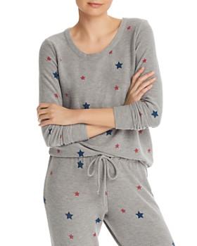 CHASER - Star Print Sweatshirt