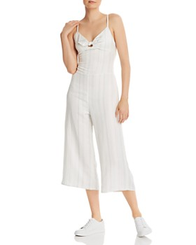 CHASER - Striped Wide-Leg Jumpsuit