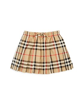 Burberry - Girls' Mini Pearly Vintage Check Pleated Skirt - Baby
