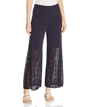 NIC and ZOE - Honeymoon Pointelle Wide-Leg Pants