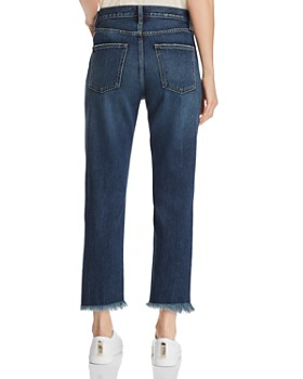 Current/Elliott - The Exposed-Fly Vintage Cropped Slim Jeans