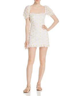 For Love & Lemons - Brulee Daisy Mini Dress