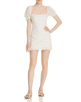 7597235f87 For Love & Lemons - Brulee Daisy Mini Dress ...