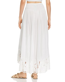 Tiare Hawaii - Dakota Crocheted-Hem Maxi Skirt