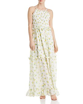 Betsey Johnson - Vintage Marigold Maxi Dress