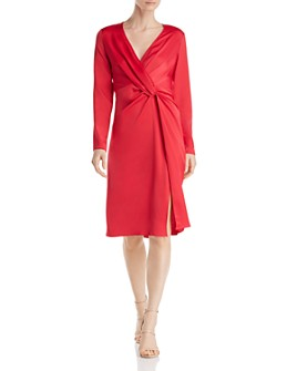 Jay Godfrey - Coats Twist-Front Dress