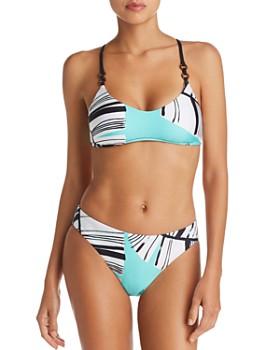 Trina Turk - Copacabana Bralette Bikini Top & Copacabana Basic Hipster Bikini Bottom