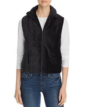 Majestic Filatures - Lightweight Velvet Puffer Vest