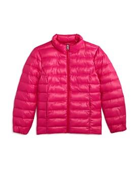 AQUA - Girls' Solid Puffer Jacket, Big Kid - 100% Exclusive