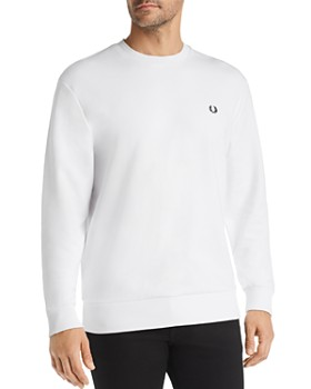 Fred Perry - Logo-Appliqué French Terry Sweatshirt
