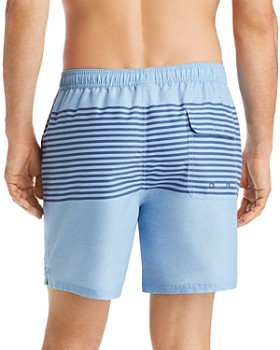 Vineyard Vines - Chappy Striped Heathered Swim Trunks