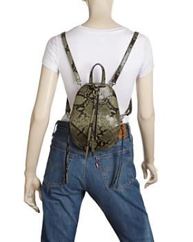 Rebecca Minkoff - Julian Mini Snakeskin-Print Backpack