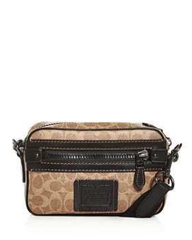 COACH - Signature East West Canvas Crossbody
