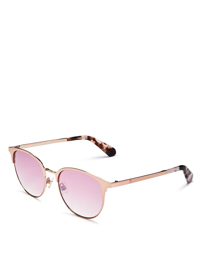 87fffbddfa11 kate spade new york Women's Joelynn Round Sunglasses, 52mm ...