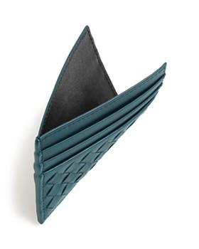 Bottega Veneta - Men's Woven Leather Card Case