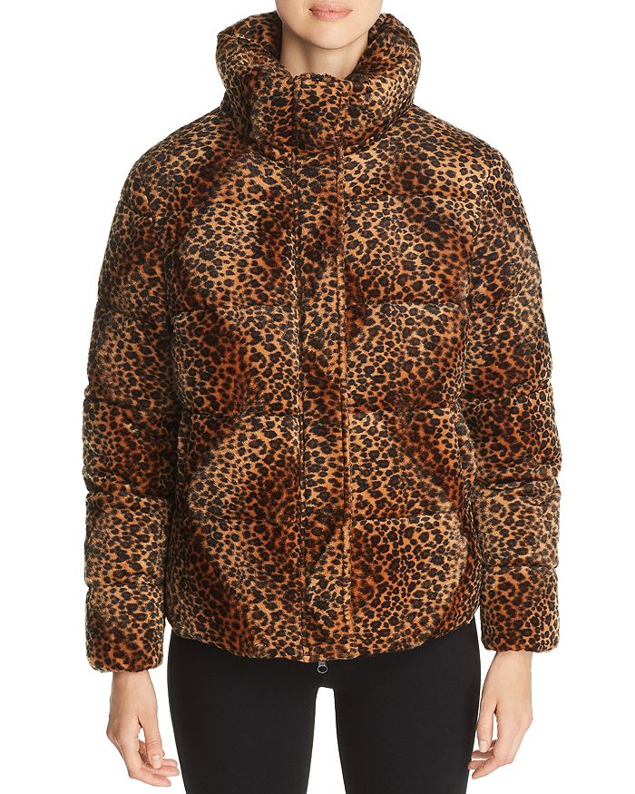 Unreal Fur - Huff and Puff Faux Fur Puffer Coat - 100% Exclusive