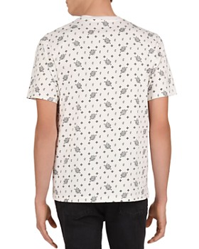 The Kooples - Bandana Party Crewneck Tee