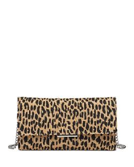 Loeffler Randall - Leopard Print Tab Clutch