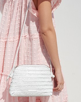 Loeffler Randall - Mallory Woven Leather Crossbody