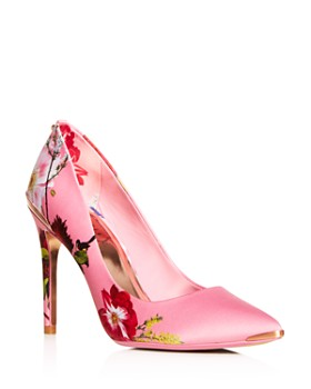 Ted Baker - Women's Izbelip Floral Pointed-Toe Pumps
