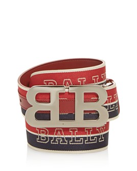Bally - Men's Mirror B Buckle Reversible Belt