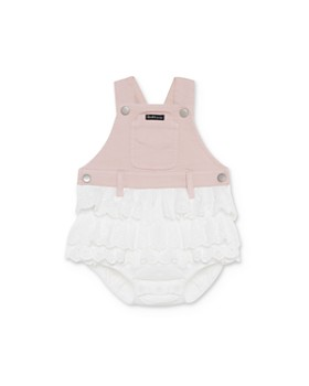 Bardot Junior - Girls' Ruffled Overalls Romper - Baby