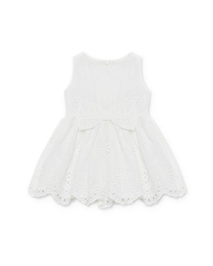 Bardot Junior - Girls' Jasmine Bow & Eyelet Dress - Baby
