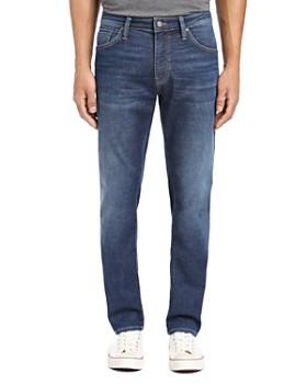 Mavi - Jake Slim Fit Jeans in Dark Brushed Cashmere