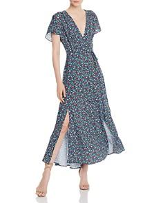 FRENCH CONNECTION - Eden Frances Faux-Wrap Maxi Dress