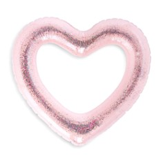 ban.do - Glitter Bomb Heart Innertube Pool Inflatable