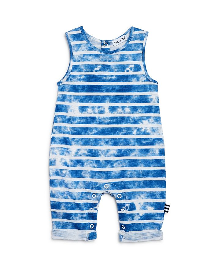 Splendid - Striped & Tie-Dyed Coverall - Baby