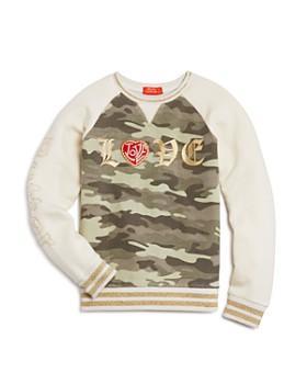 c0420ee8 Butter - Girls' Camo Love Sweatshirt - Big Kid ...