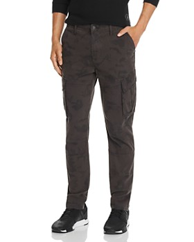 Hudson - Camouflage-Print Skinny Fit Cargo Pants