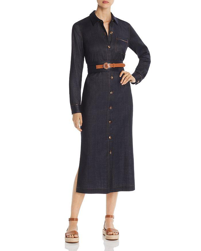 Lafayette 148 New York - Madra Denim Midi Shirt Dress